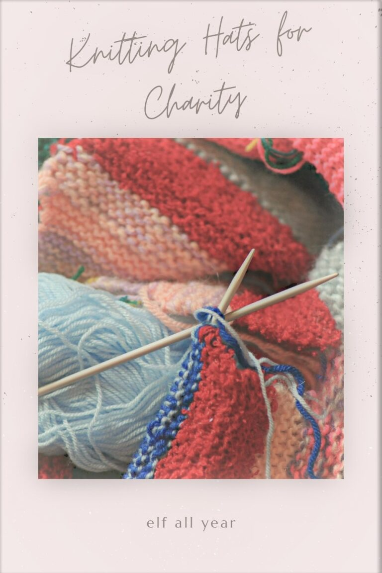knitting hats for charity