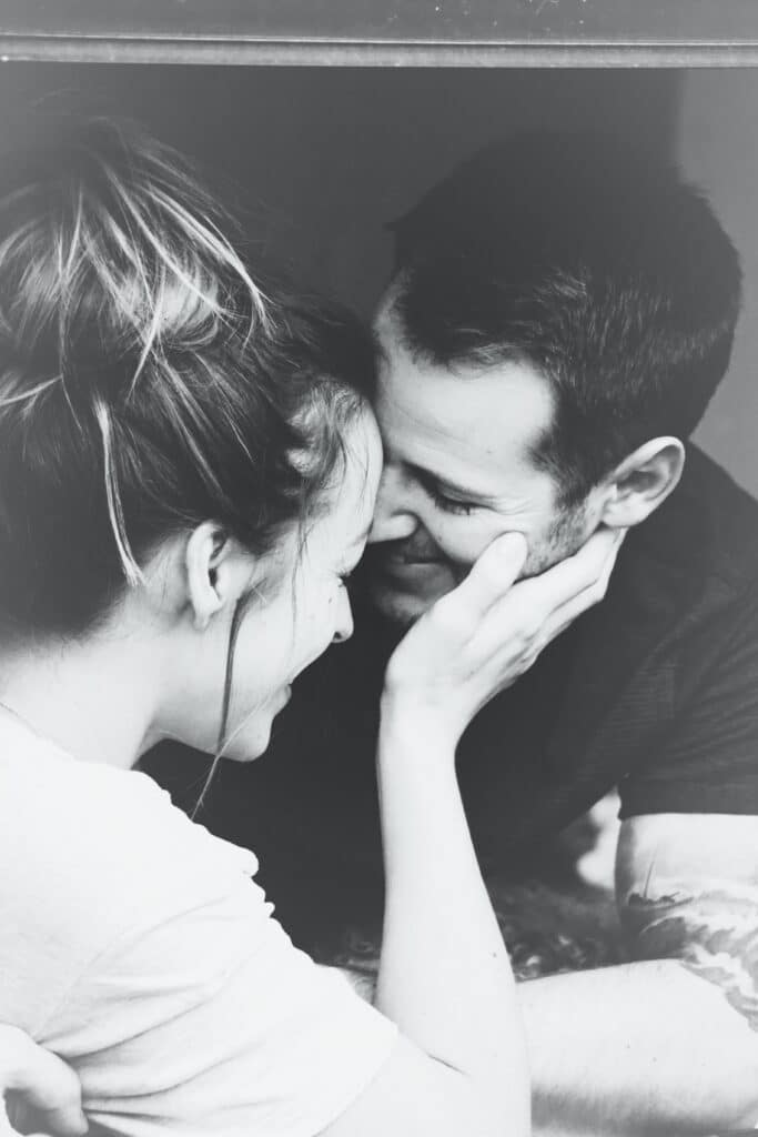 spiritual marriage - black and white