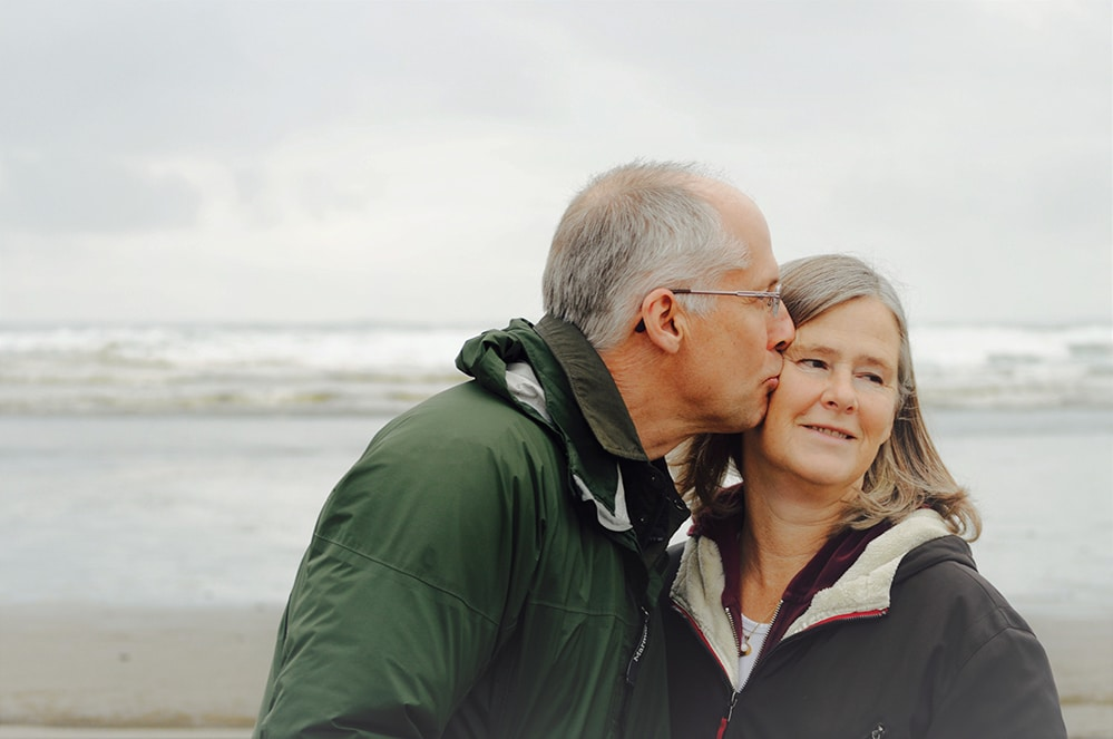spiritual marriage - elderly couple