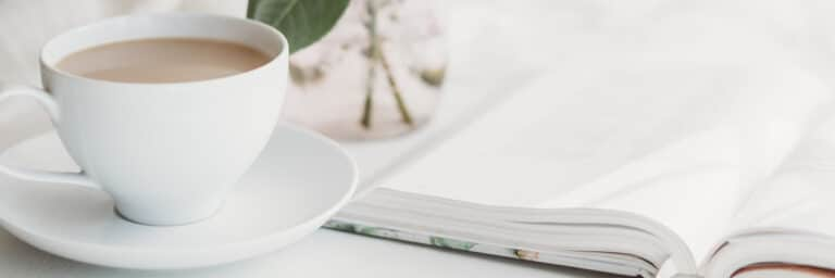 What is a Bible Study - Bible on a table with coffee mug
