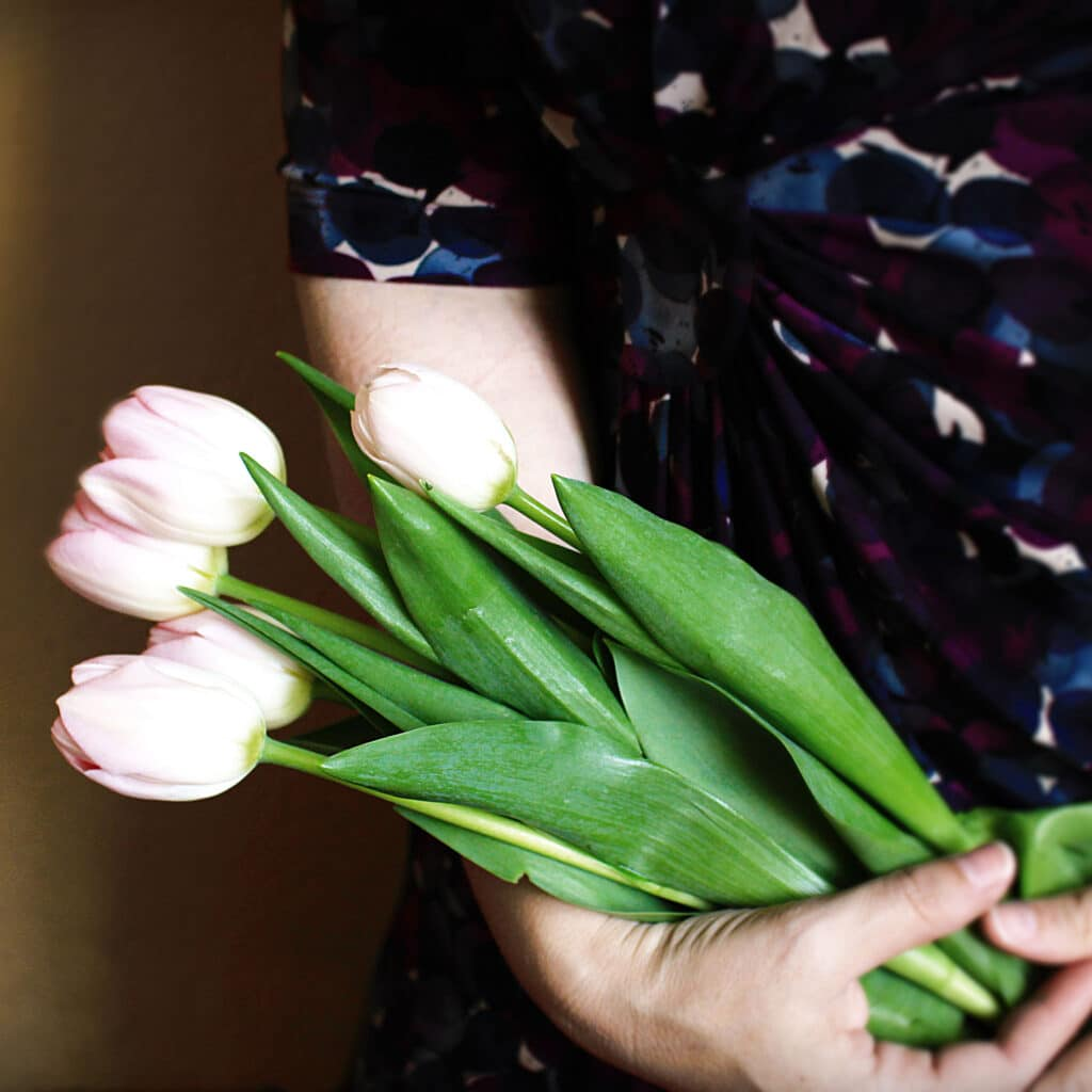 tulips to send to someone