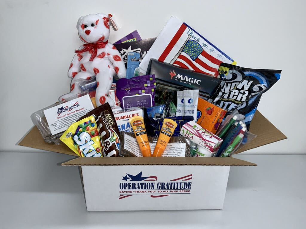 operation gratitude care package