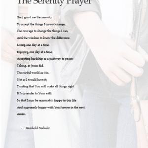 Neutral Serenity Prayer