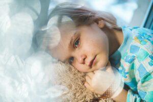 Scottish rite for children - girl in blue