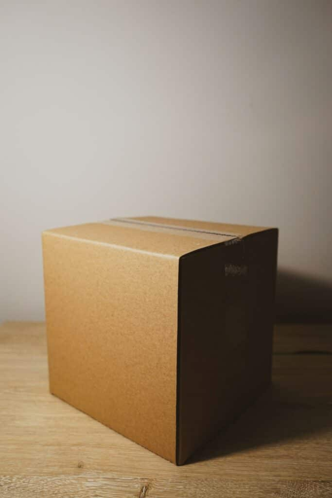 military care packages - box