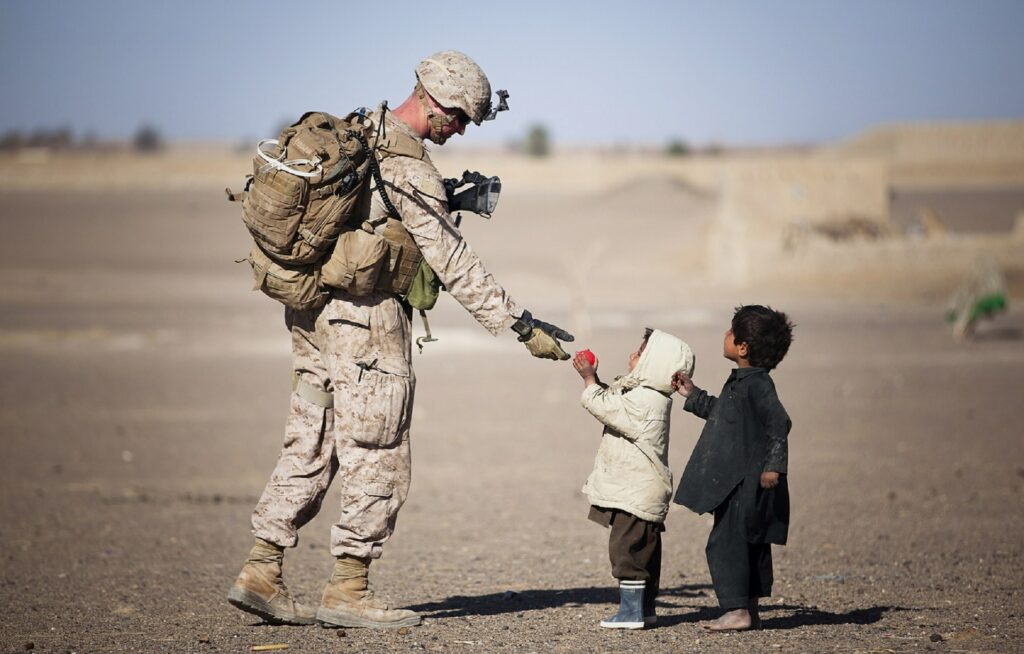 soldiers - military care packages