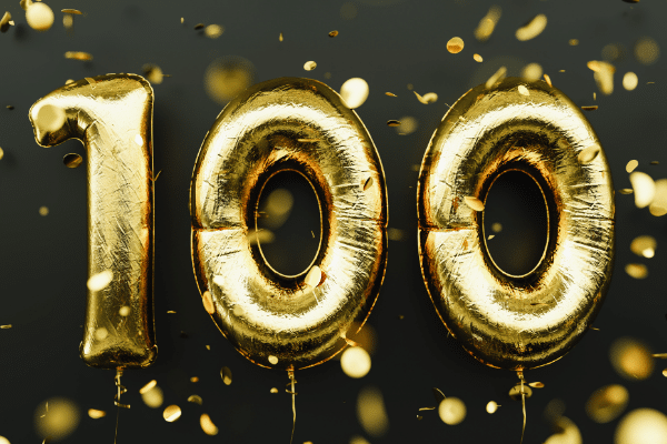 Scottish Rite for children- 100 Anniversary Balloons